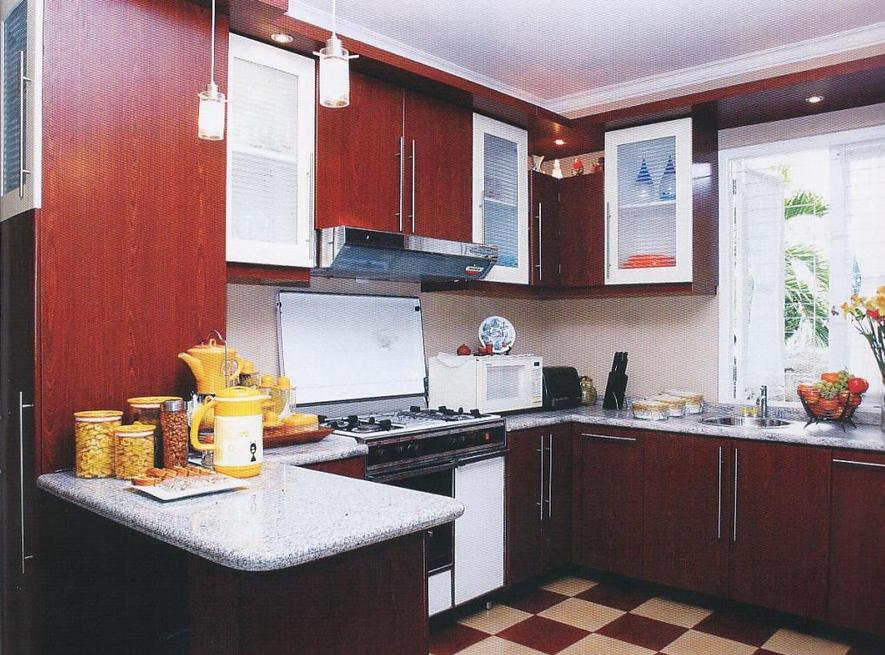 Koleksi contoh gambar desain interior dapur dari yang ...