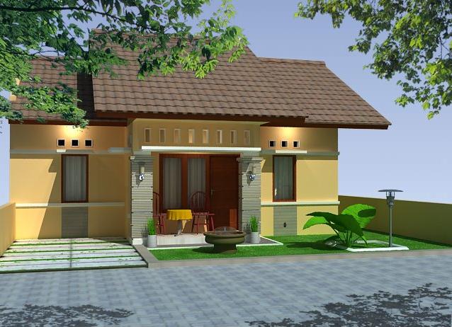 desain rumah mungil modern