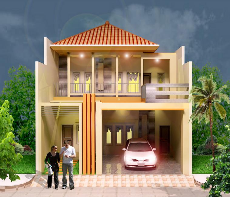 gambar desain rumah kecil & Kumpulan desain rumah kecil untuk lahan sempit berkesan minimalis ...