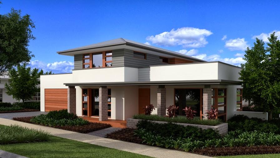 desain eksterior rumah mungil minimalis