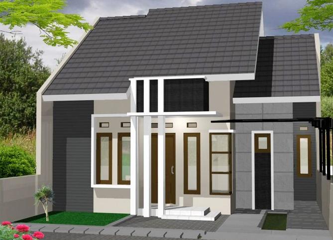 desain rumah minimalis 1 lantai 2 kamar