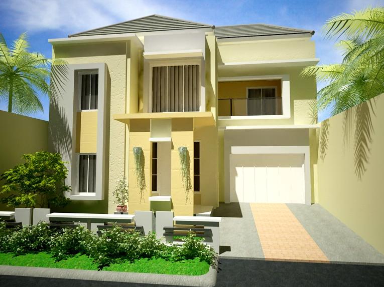 kumpulan desain rumah minimalis modern 2 lantai type 36